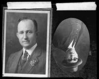 Oil executive Morris Berman, 2 photographs, 1928 and [1930s?]