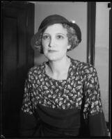 Mrs. Alpheus George Barnes Stonehouse, circa 1920-1931