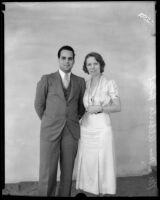 Mr. and Mrs. Alberto Bolet, Los Angeles, 1932
