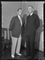 Frank N. Belgrano, Jr. and Col. Robert A. Bringham, 1935