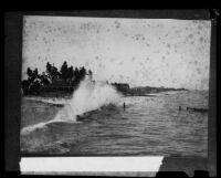 Boschke Island, San Pedro, 1885-1900 [?], [rephotographed], 1926