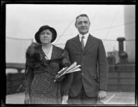 Lieutenant General Albert J. Bowley and Elsie Bowley, 1931-1939