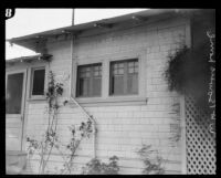 House of W. H. Bowers, intended victim in poison plot case, Los Angeles, 1926
