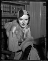 Actress Betty Boyd probably at the time she divorced Charles Henry Over, Jr., Los Angeles, 1934