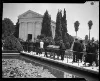 William Andrews Clark III laid to rest at Hollywood Cemetery, Los Angeles, 1932
