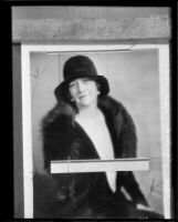 Portrait of Mrs. Thomas Lee Woolwine, 1920-1939