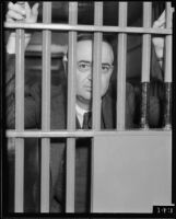 "George Rochester ""jailed"" at County Jail, Los Angeles, 1935"