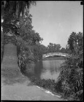 Echo Park Lake, Los Angeles, ca. 1930s