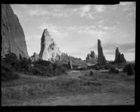 Scenic view of desert rocks, Southern California, 1930s