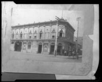Exterior of the National Hotel (copy), Los Angeles, ca. 1890s