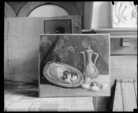 Still life painting by an Otis Art Institute student, Los Angeles, 1918-1939