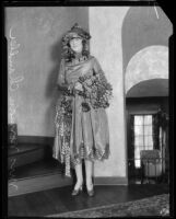 Dorothy Chandler in costume, Los Angeles, 1920s