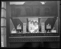 Window display for Kolynos Dental Cream, Los Angeles, ca. 1934