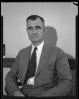 John W. Dady comes to California on behalf of Indian affairs, Riverside, 1933