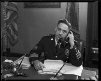 Police chief James E. Davis, Los Angeles, ca. 1930s