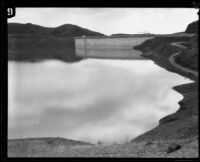 Mulholland Dam and Hollywood Reservoir, Los Angeles, 1925-1939