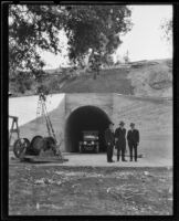 Outlet tunnel at Devil's Gate Dam, La Cañada Flintridge