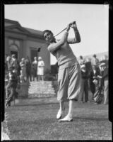 Mortie Dutra in full swing, Los Angeles, 1931