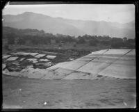 Failed Sheffield Dam after the earthquake, Santa Barbara, 1925