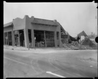 Buildings damaged and destroyed by the Long Beach earthquake, Southern California, 1933