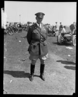 Major General James E. Fechet at the National Aeronautical Exposition, Los Angeles, 1928