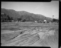 Honolulu Avenue after the catastrophic January flood and mudslide, La Crescenta-Montrose, 1934