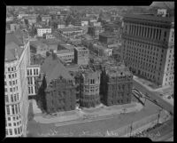 County Courthouse under demolition, Los Angeles, 1935
