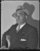 Don McDonald, Long Beach referee, 1935