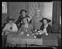 Members of the Republican Women of Southern California, a group aimed at fighting the New Deal, Los Angeles, 1935
