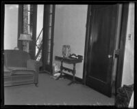 Apartment of murder victim Gladys G. Fair, Long Beach, 1935