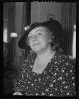Singer Ruth Shaffner, Los Angeles, 1935