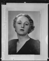Rosemary Robinson Evans marries fellow student, Escondido, 1935
