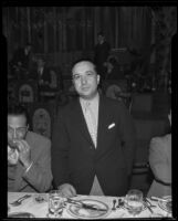P. Allen Rickles elected President of Lodge of B'nai B'rith at convention, Los Angeles, 1935
