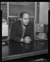 Former Deputy Sheriff Archie Carter, Los Angeles, 1935
