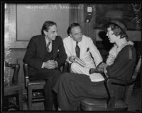 Dr. Cecil E. Reynolds and Dr. Samuel Marcus interview Gladys Carter, Los Angeles, 1935