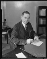 Nat Rogan appointed Collector of Interan Revenue, Los Angeles, 1935