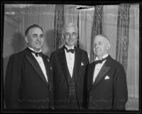 Joe Crider, Jr., William L. Ransom, and Scott M. Loftin at the American Bar Association convention, Los Angeles, 1935