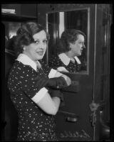 Estelle Taylor, actress, Los Angeles, 1935