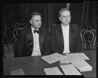 Judges Orie Leon Phillips and John Johnston Parker have the same birthdate, Los Angeles, 1935