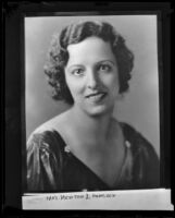 Mildred Hancock, 1935