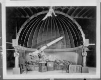 Telescope at Griffith Observatory (copy), Los Angeles, 1935