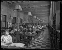 History Room at the Central Library, Los Angeles, 1935