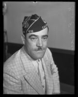Gene E. Marcy of the American Legion, Los Angeles, 1935