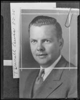Glendale Junior Chamber of Commerce president T. Darrell Lewis, Glendale, 1935