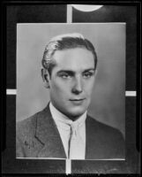 John Burnham is reported to be critically injured after being stabbed, Glendale, 1935
