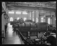 A room at the Pasadena Lite Plant, Pasadena, 1935