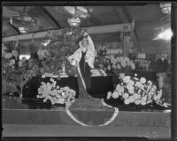 Ethel Ziegler, queen of the Los Angeles County Fair, Pomona, 1935