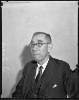 Inosuke Inose, president of the former Southern California Japanese Hospital, 1935