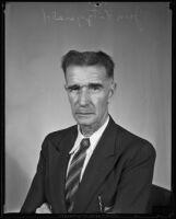 Jim Fitzgerald, Loyola Stadium groundskeeper, Los Angeles, circa 1934