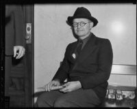 Frederick S. Krupp, witness to Hazel Glab case, Los Angeles, 1936